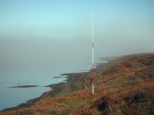 HF radar at Pt. Lay, Alaska