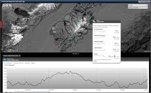 Kulluk sensor screenshot